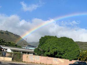 虹 ハワイ